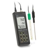 Hanna HI 9125  Portable pH/mV Meter with Enhanced Design