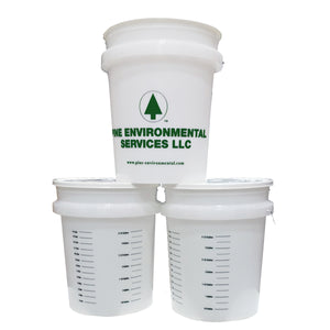 Pine Bucket with Lid, 5-Gallon