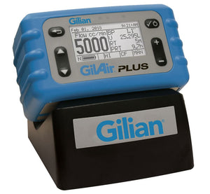 GilAir Plus Data Logging Single Starter Kit, US cord