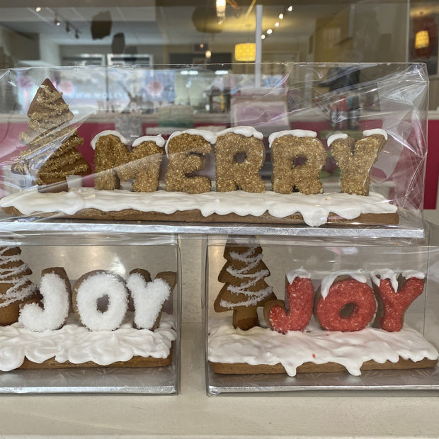 Gingerbread Message