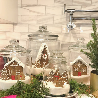 Gingerbread Jars, Multiple Dates