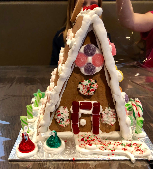 Perfect for little hands: A-Frame Gingerbread House Fun, Multiple Dates