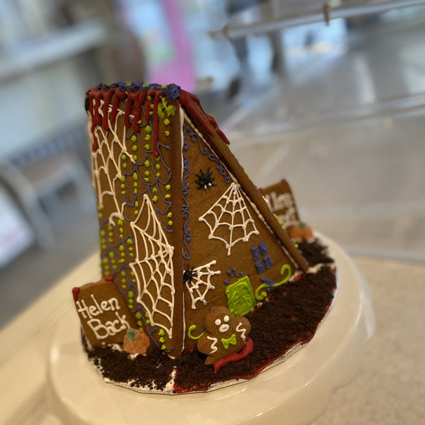Haunted Gingerbread House, A-Frame