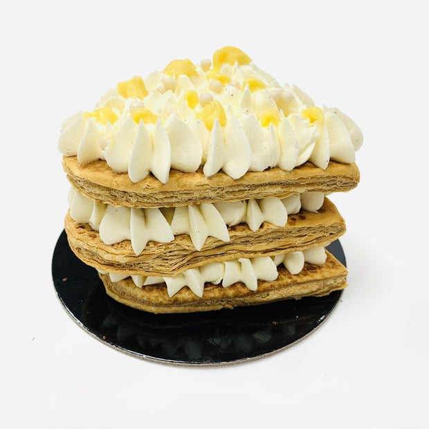 Mille Feuille Passion Fruit Heart