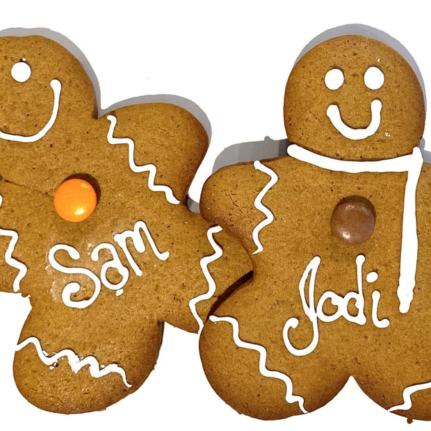 "Customizable 5"" Gingerbread People"