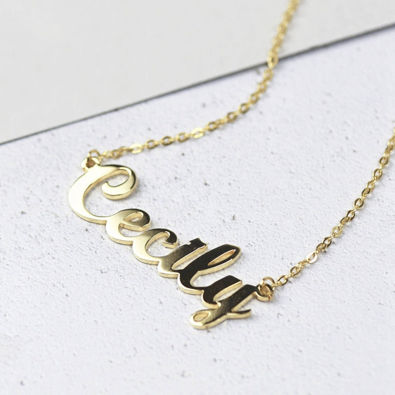 The You Customized Name Necklace