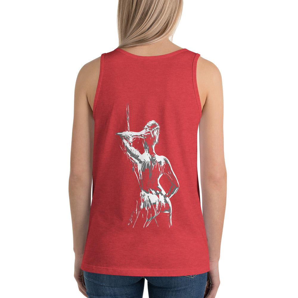 Paint Logo Unisex Tank Top