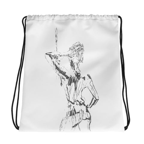 Paint Drawstring Bag
