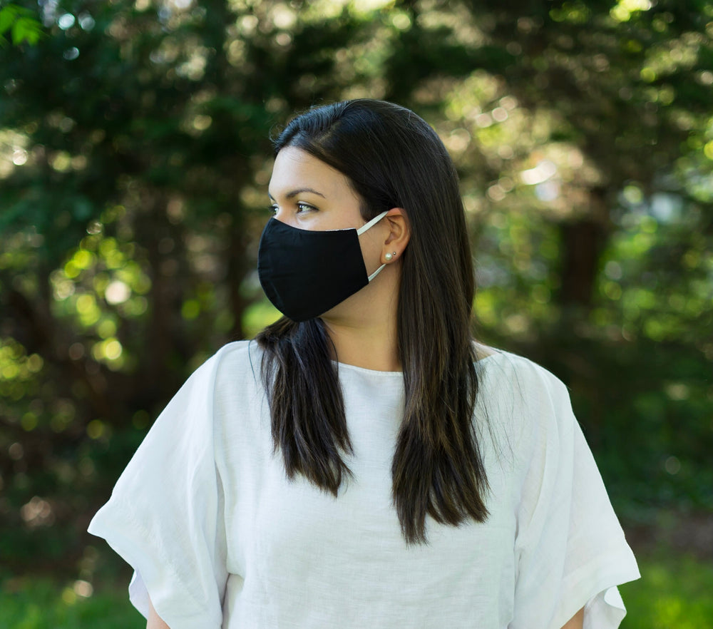 3-Layer Reusable Face Mask (Pack of 5, Unisex)