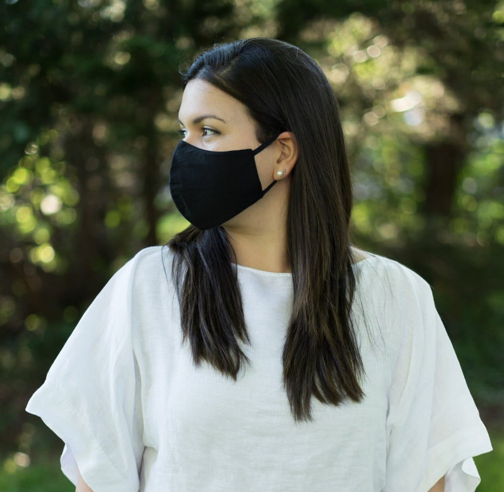 3-Layer Adjustable Ear Loops Reusable Face Mask (Unisex)
