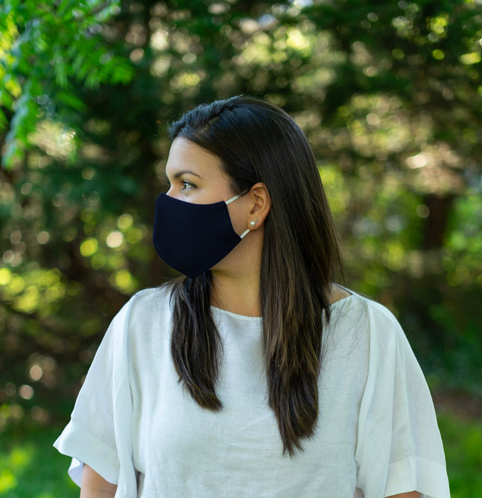 2-Layer Reusable Face Mask Curve Style (Pack of 5, Unisex)