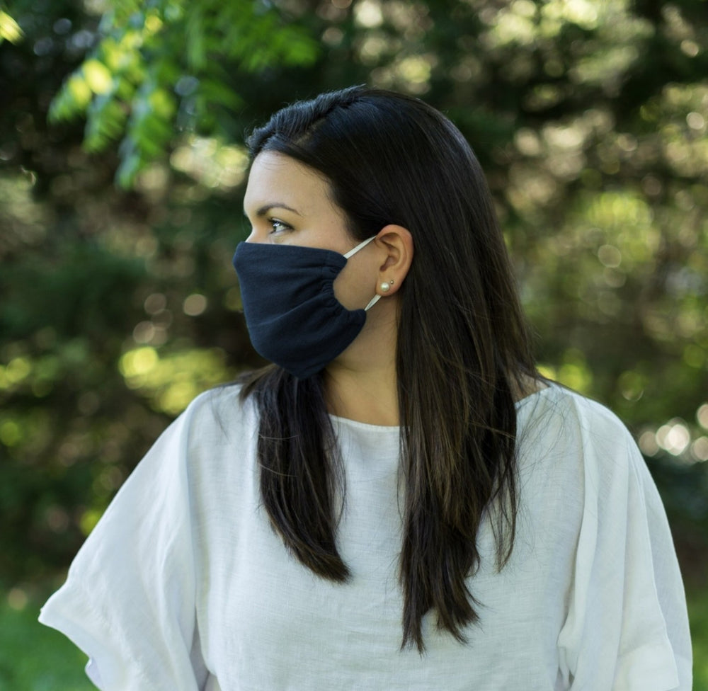 2-Layer Reusable Face Mask Flat Style (Pack of 5, Unisex)