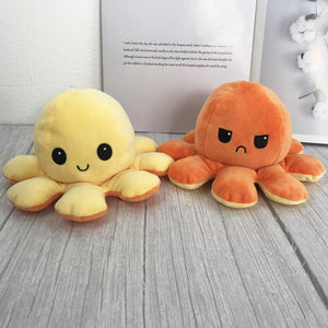 Emotion Flip TikTok Octopus Plush