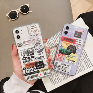 Barcode Trendy Case