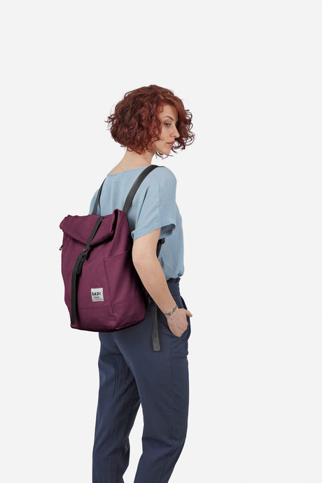 Roll-Over Rucksack, bordeaux