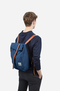 Roll-Over Rucksack, ocean blue