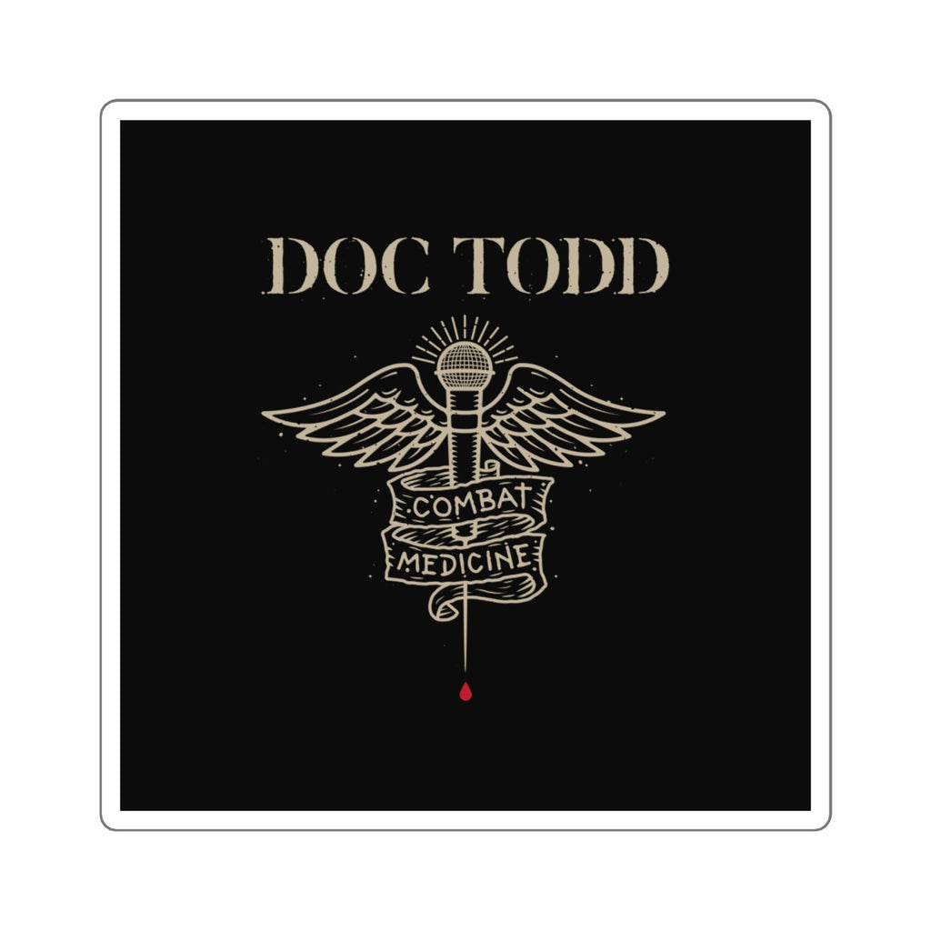 Combat Medicine Sticker (Doc Todd Exclusive)