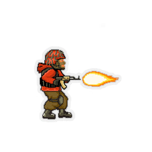 Metal Slug Spetsnaz Sticker