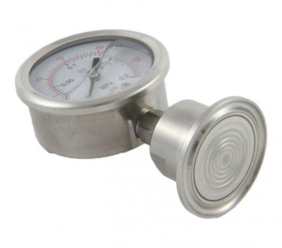60psi Tri-Clamp Pressure Gauge