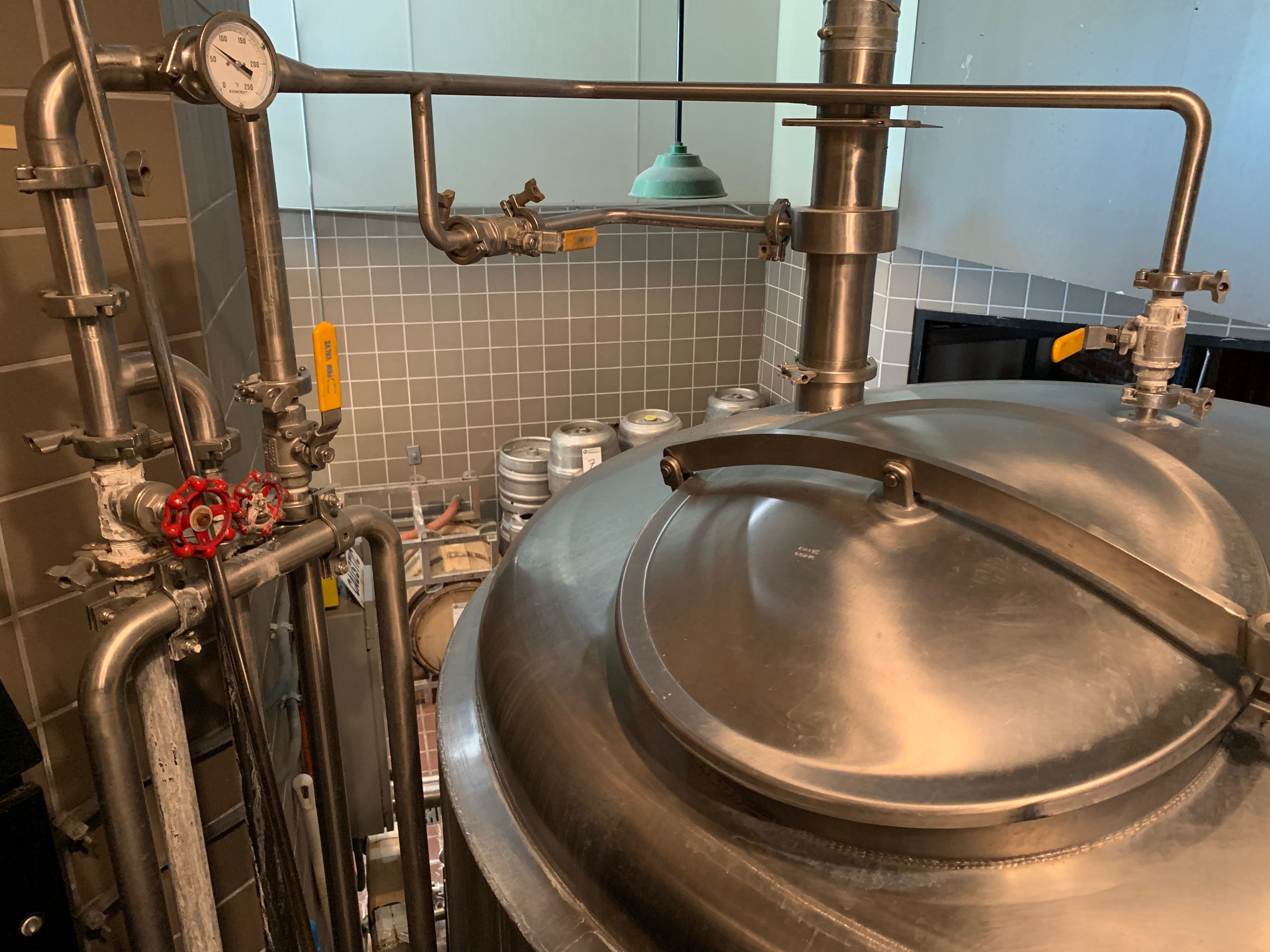 Complete 15bbl Direct Fire Pub Brewery from JVNW