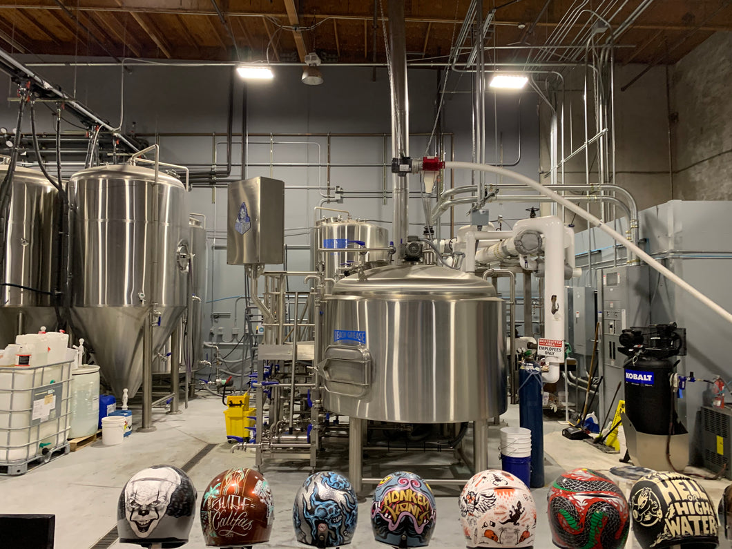Complete 15 bbl Premier Stainless System