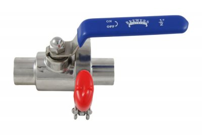 "1/2"" NPT Quick Clean Take-Apart Ball Valve"