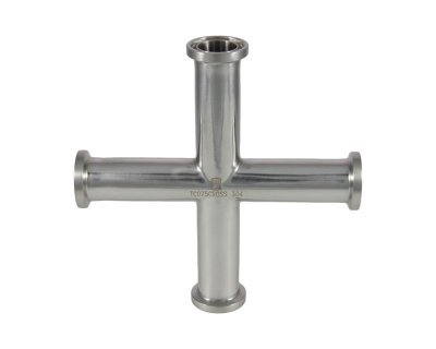 "3/4"" Tri Clover Compatible Cross"