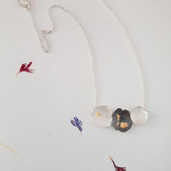Louisa Russell Pressed Flower Necklace