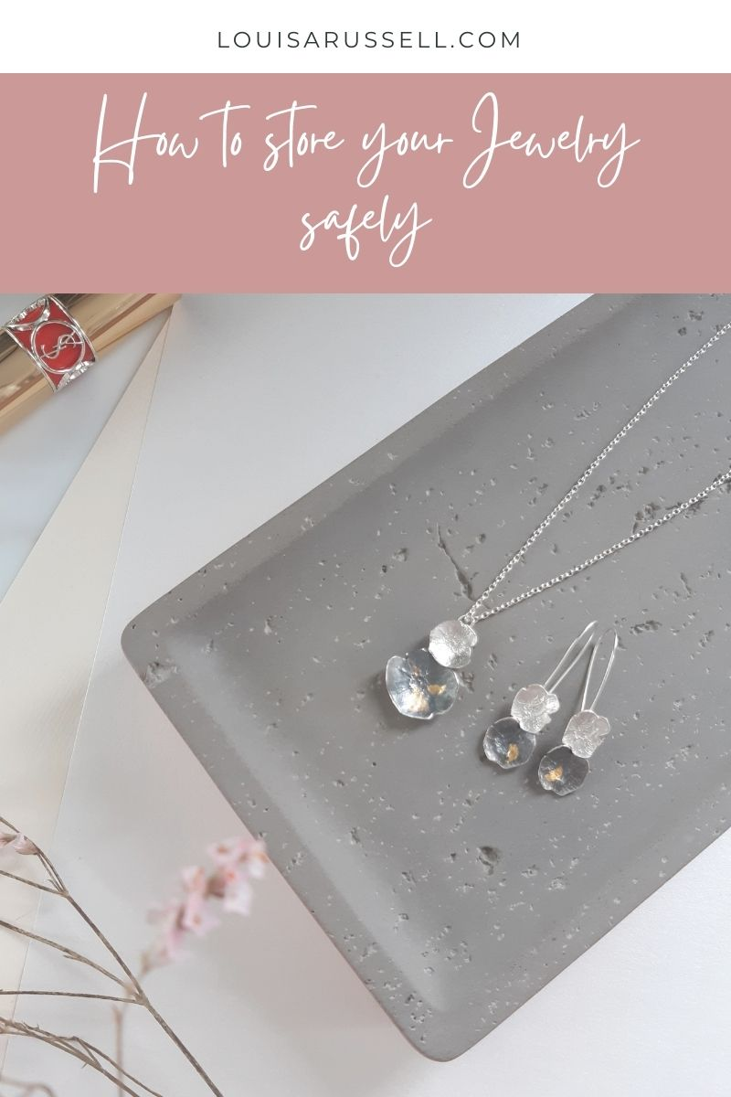 Storing jewelry safely