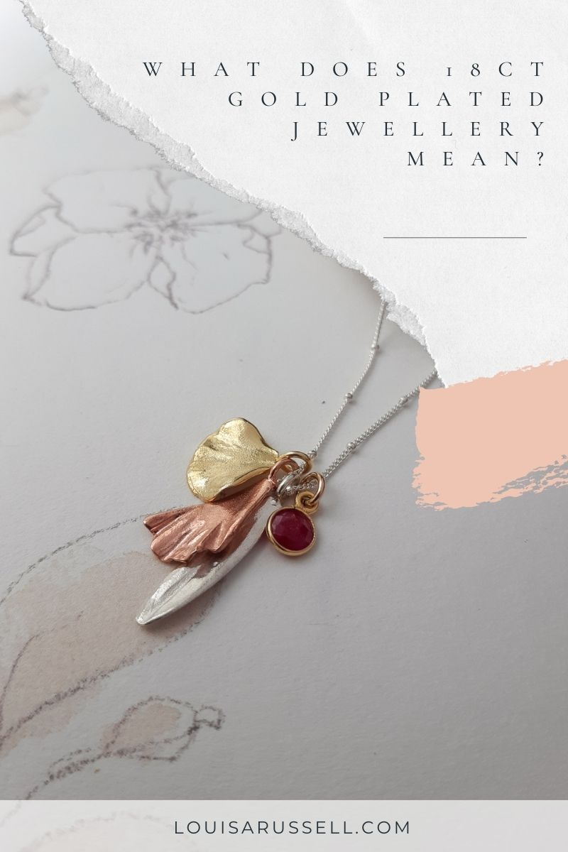 What is 18ct gold plated jewelry