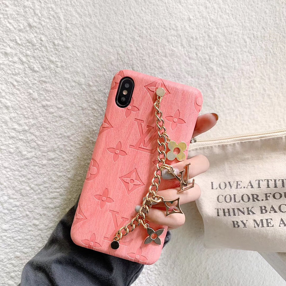 LV Style Chain iPhone Case