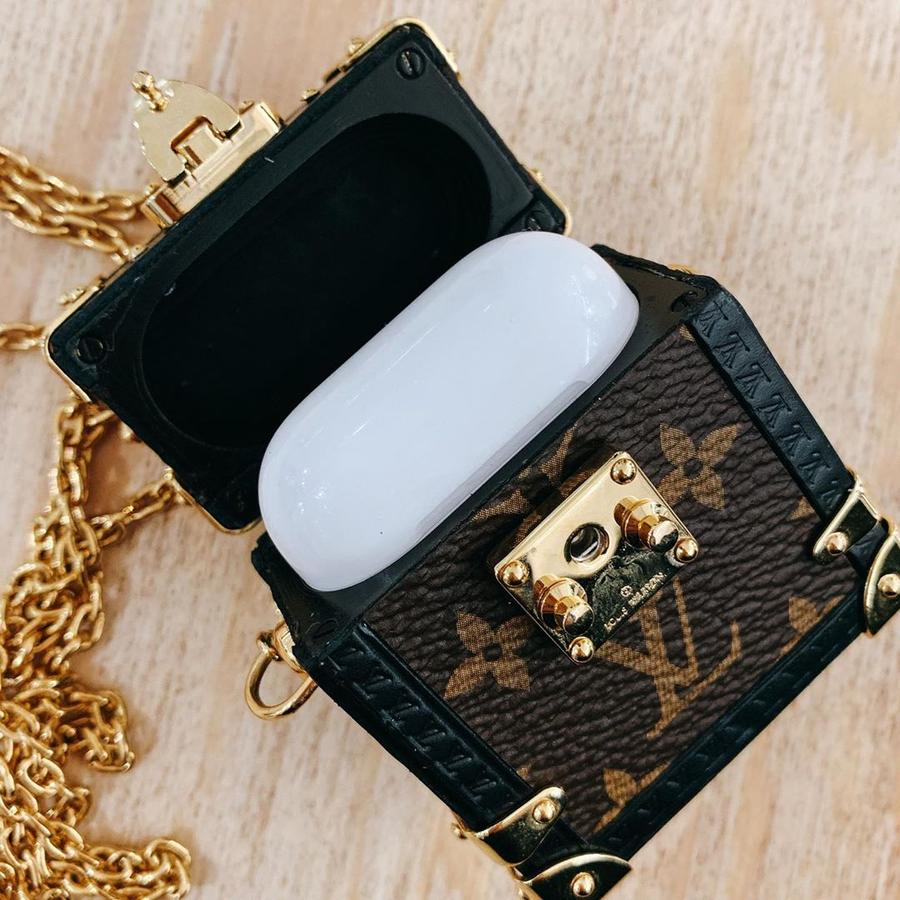 LV Trunk Designer Case for Apple AirPods 1 & 2