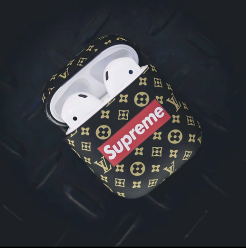 Supreme Custom Collab Case for Apple AirPods 1 & 2