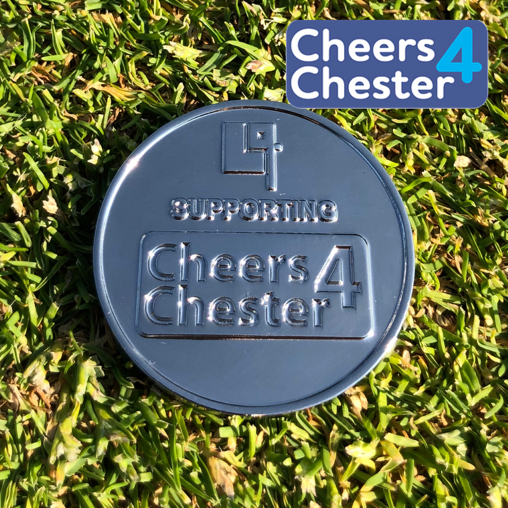 CHEERS4CHESTER CHARITY BALL MARKER