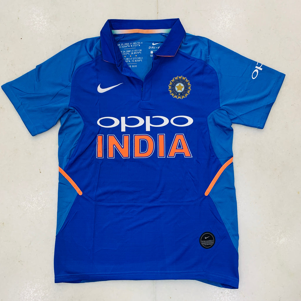 new arrival d3ffc aa264 Premium Quality Replica Indian Cricket Jersey 2019 ...