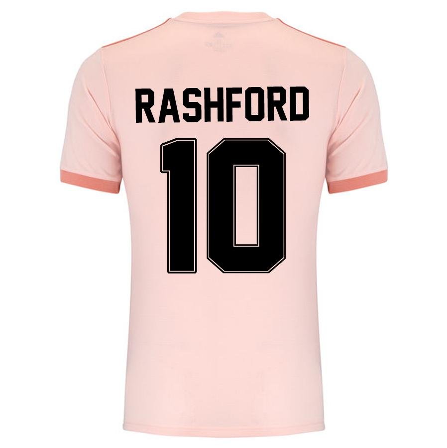 new product 41d1f 0e0a6 Rashford#10 Manchester United 18/19 Cup Away Kit