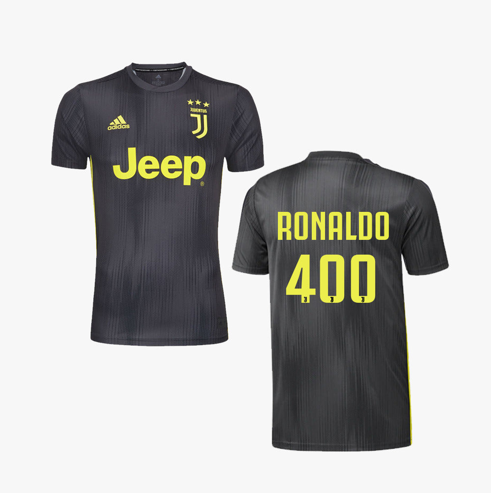 wholesale dealer 29f14 0a4a6 Ronaldo#400 Juventus 18/19 Third Kit