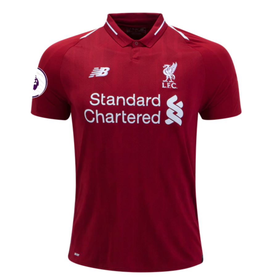 best loved aba85 1975a M.Salah#11 Liverpool 18/19 Home Kit