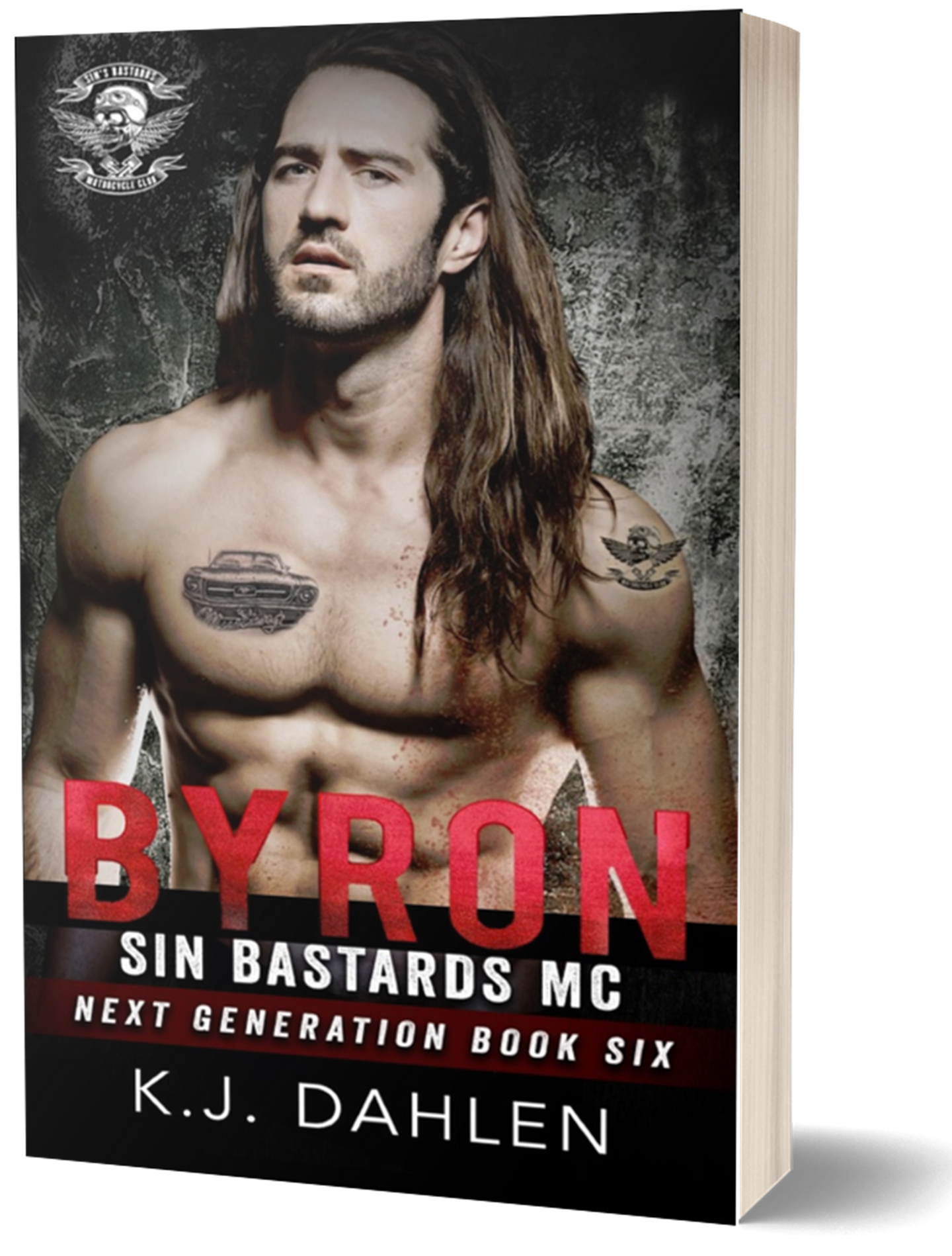 Byron-Sin's-Next Generation-#6-Paperback