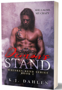 Demon's-Stand-Whiskey-Bend-MC-#2-Paperback