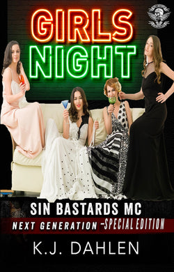Girl's Night-Sin's-Bastards-MC-Special-Edition-Single
