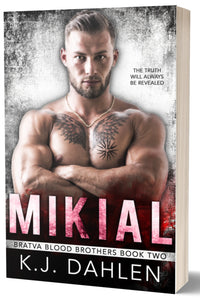 Mikial-Bratva Blood-Brother-#2-Paperback