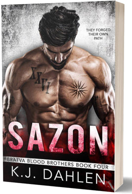 Sazon-Bratva-Blood-Brothers#4-Paperback