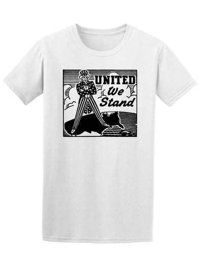 Retro United We Stand Uncle Sam Graphic Tee - Image by Shutterstock
