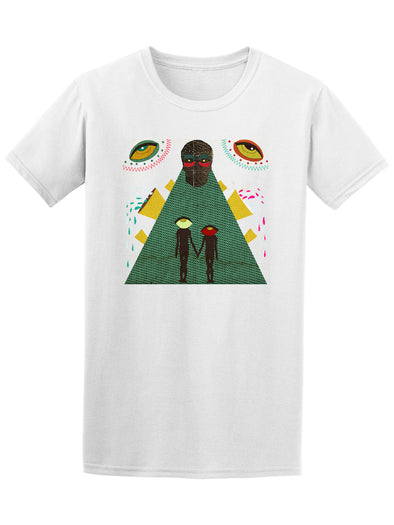 Cool Hand Stich Alien Collage Tee - Image by Shutterstock