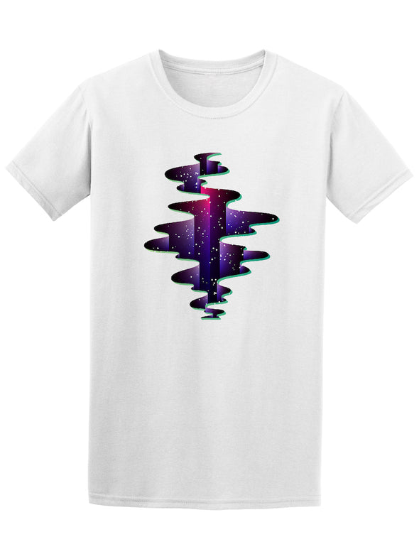 Cool Psychedelic Abyss Gap Graphic Tee - Image by Shutterstock