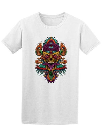Trippy Fire Breathing Monster Tee - Image by Shutterstock