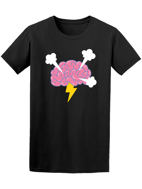 Abstract Brainstorm Humor Graphic Tee - Image by Shutterstock