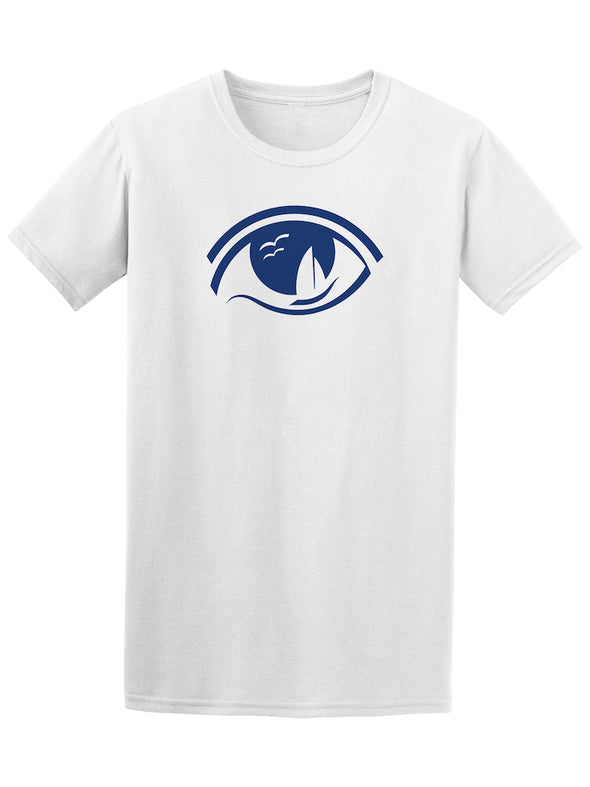 Eye Ship Ocean Graphic Tee - Image by Shutterstock