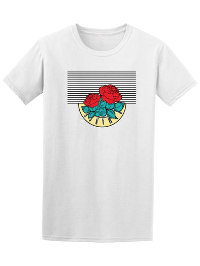 Cool Roses Romance Graphic Men's Tee - Image by Shutterstock